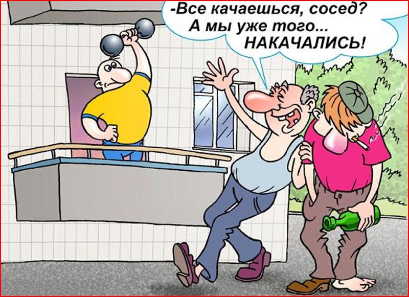 Карикатуры про водку  (гей блюсик 18363)