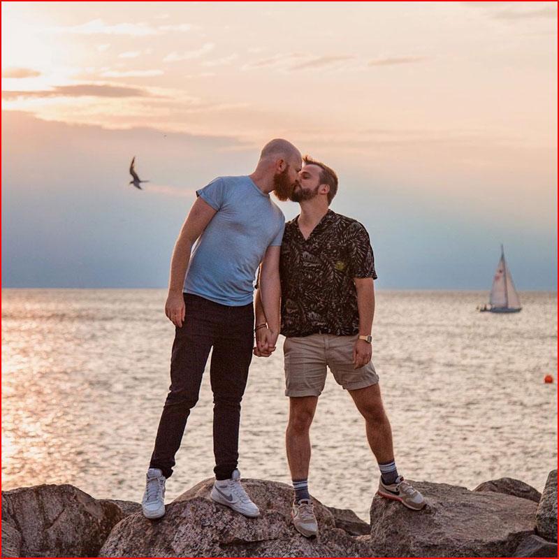Вечерний поцелуй  (гей блюсик 18396)
