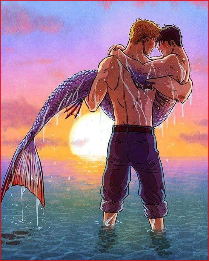 Необычная любовь  (гей блюсик 18449)