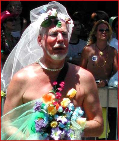 Седая невеста  (гей блюсик 185)