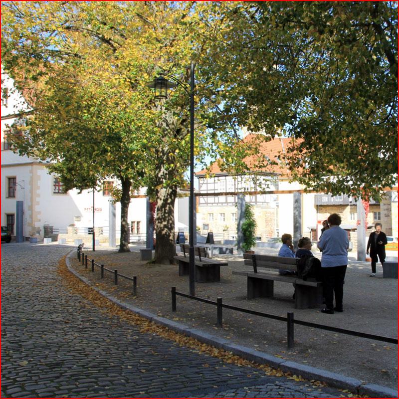 Осенняя прогулка по городу Айзенах