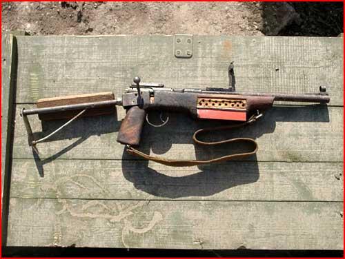 Самодельное оружие в Чечне  (гей блюсик 1859)