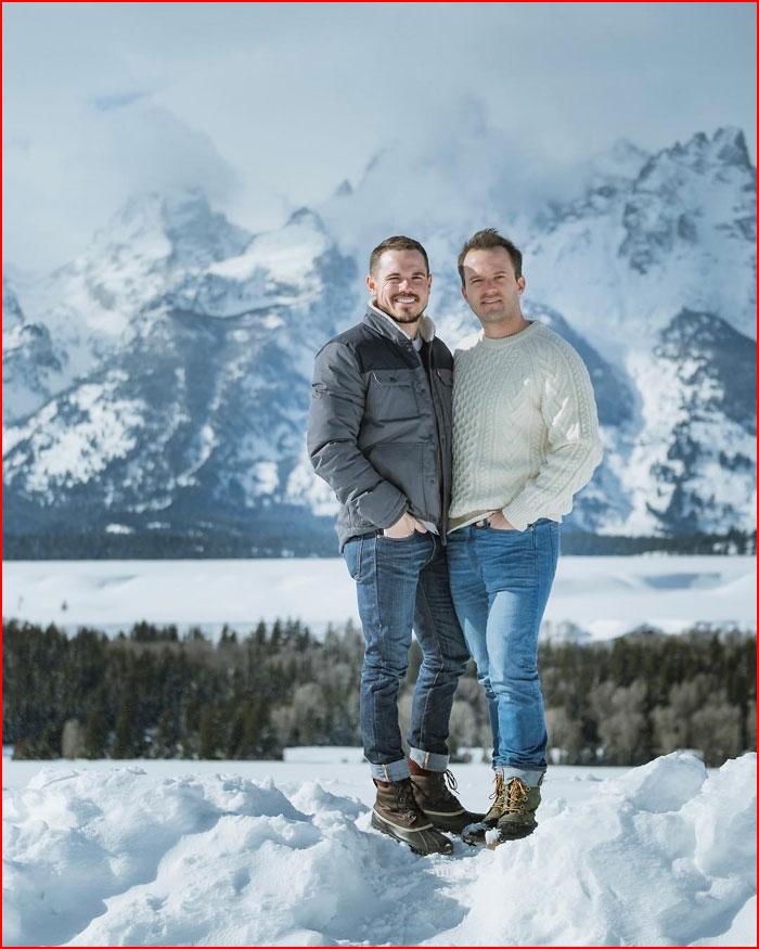 В горах  (гей блюсик 18620)