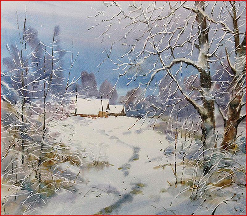 Зима на Руси в картинах художников  (гей блюсик 18727)
