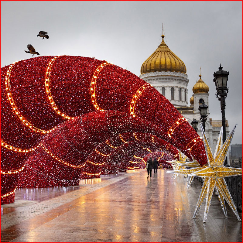 Предновогодняя Москва. Фотозарисовка  (гей блюсик 18839)