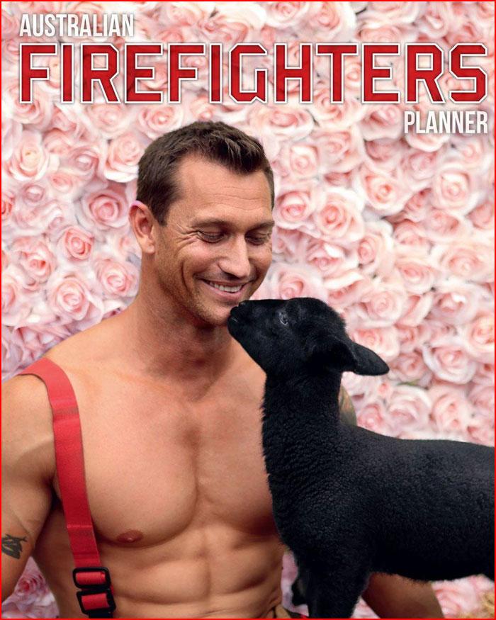 Австралийский календарь пожарных на 2020 год  (гей блюсик 18843)