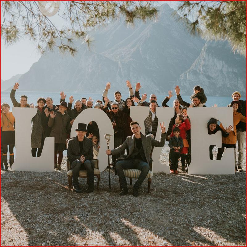 Зимняя свадьба  (гей блюсик 18859)