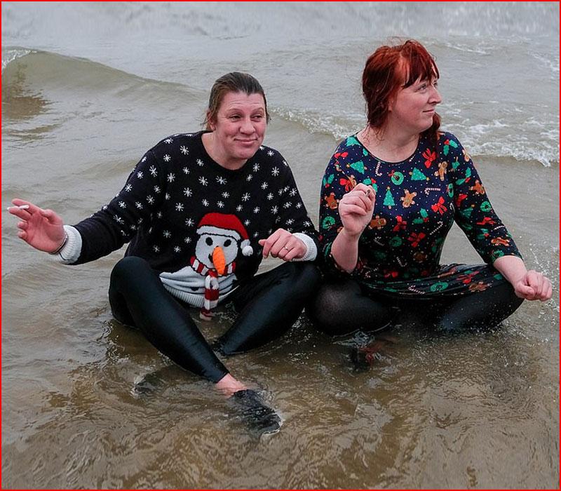 Рождественские моржи и пингвины из Англии  (гей блюсик 18875)