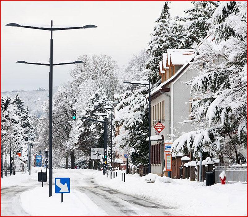 Прогулка по снежному Вайсенбургу  (гей блюсик 18879)