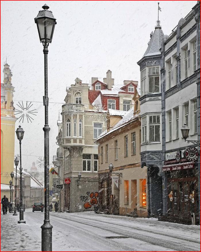 Зима в городе  (гей блюсик 18895)