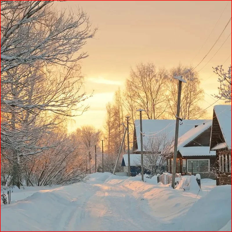 Зимнее настроение. Фотозарисовка