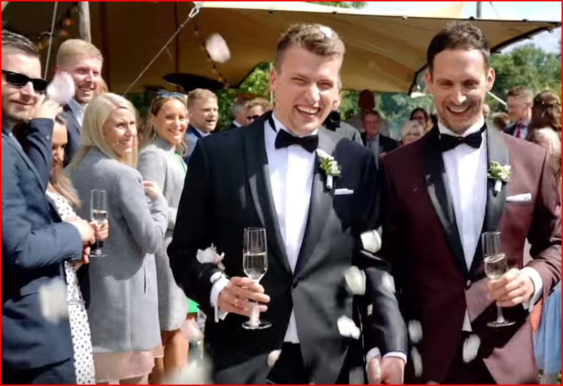 Свадьба Arne & Alex (видео)  (гей блюсик 19020)