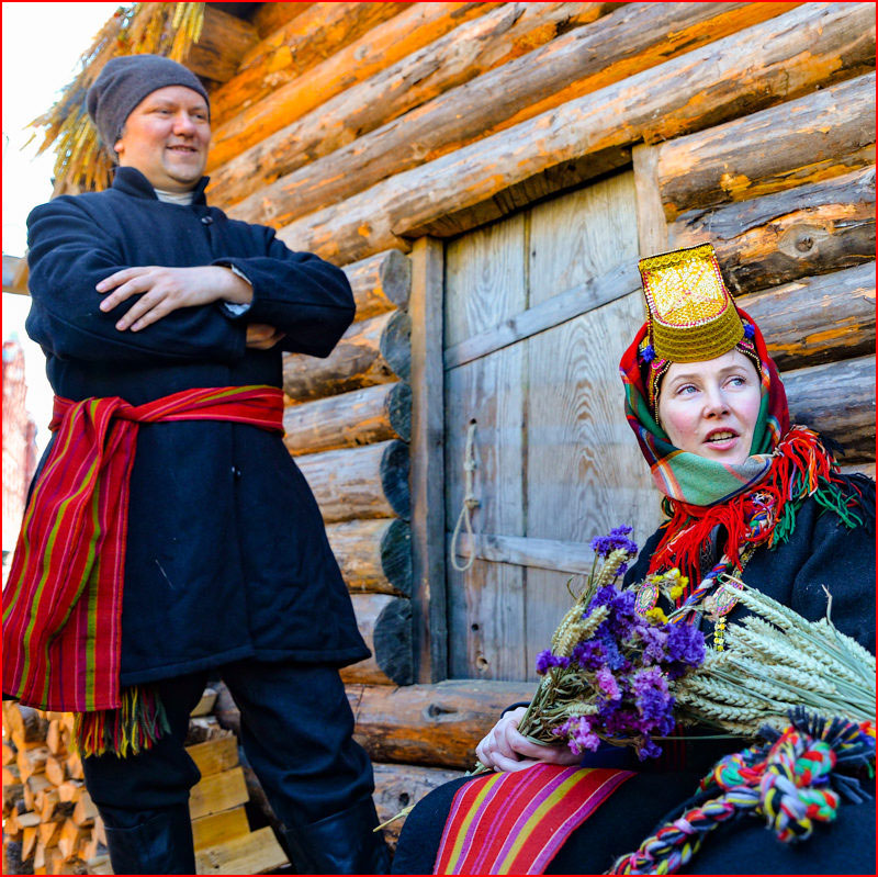 Московская Масленица. Фотозарисовка