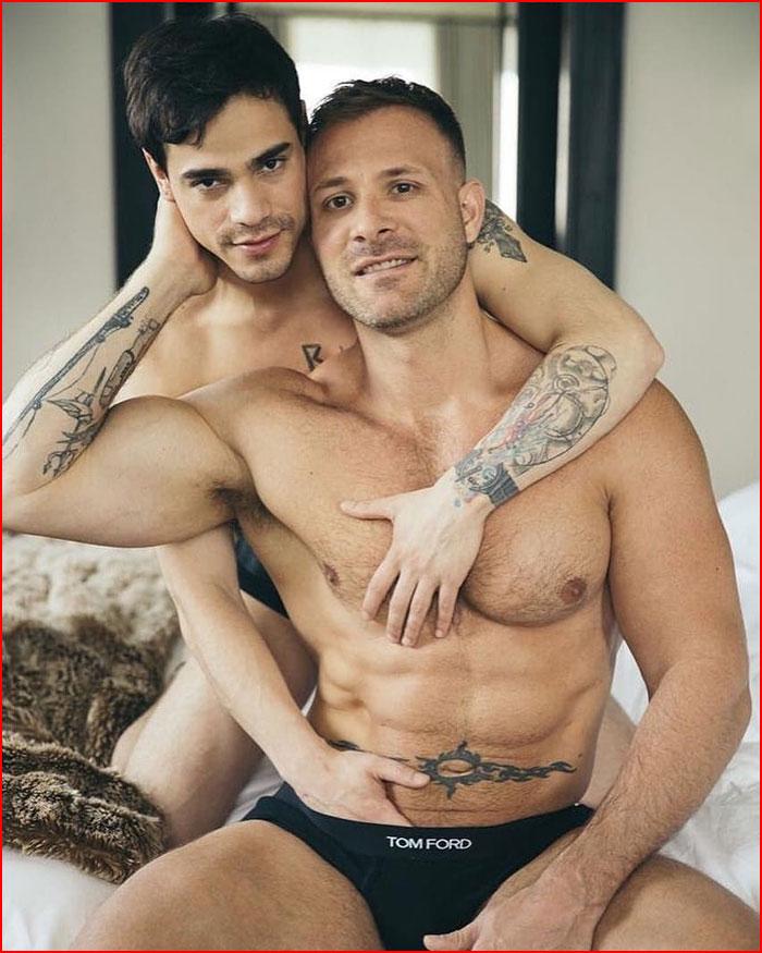Сексапильная пара  (гей блюсик 19300)