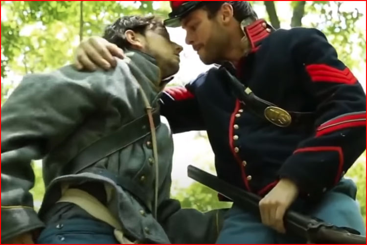 Военный роман (видео)  (гей блюсик 19328)