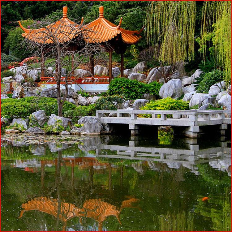 Китайские сады за пределами Поднебесной  (гей блюсик 19551)