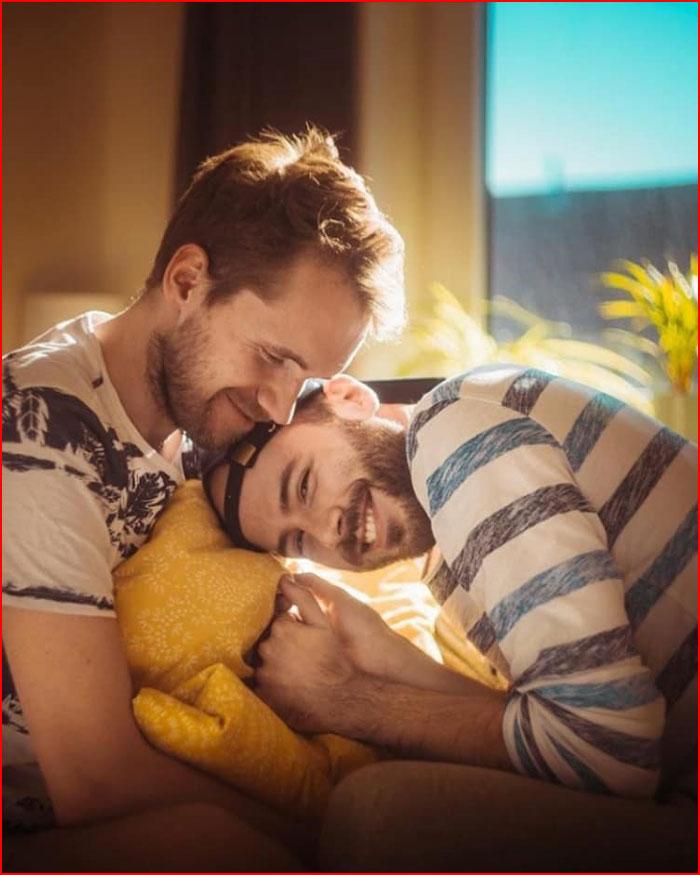 Счастливые  (гей блюсик 19636)