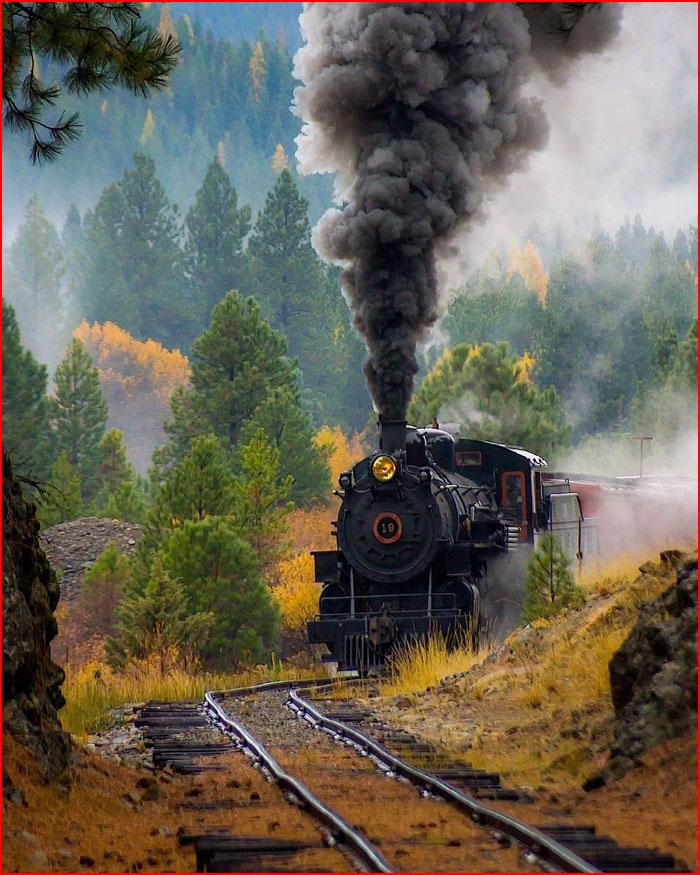 Романтика железных дорог в фотографии  (гей блюсик 19651)
