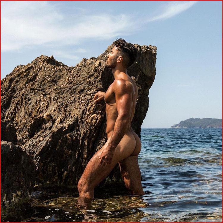 Трое на пляже  (гей блюсик 19667)