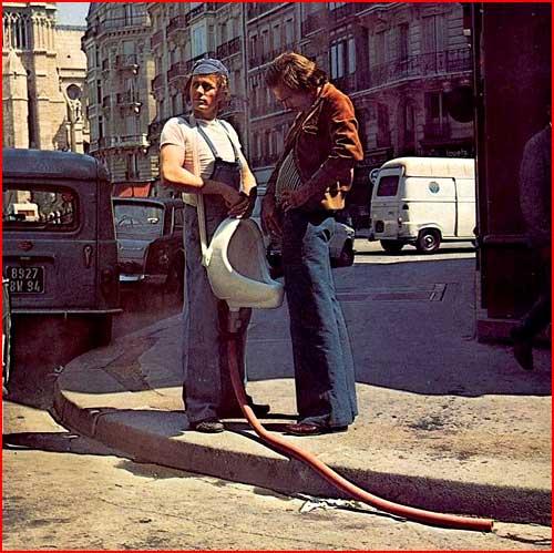 Передвижной писсуар  (гей блюсик 1968)