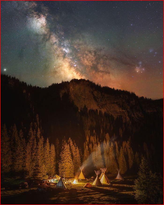 Ночное небо от Алекса Фроста  (гей блюсик 19687)