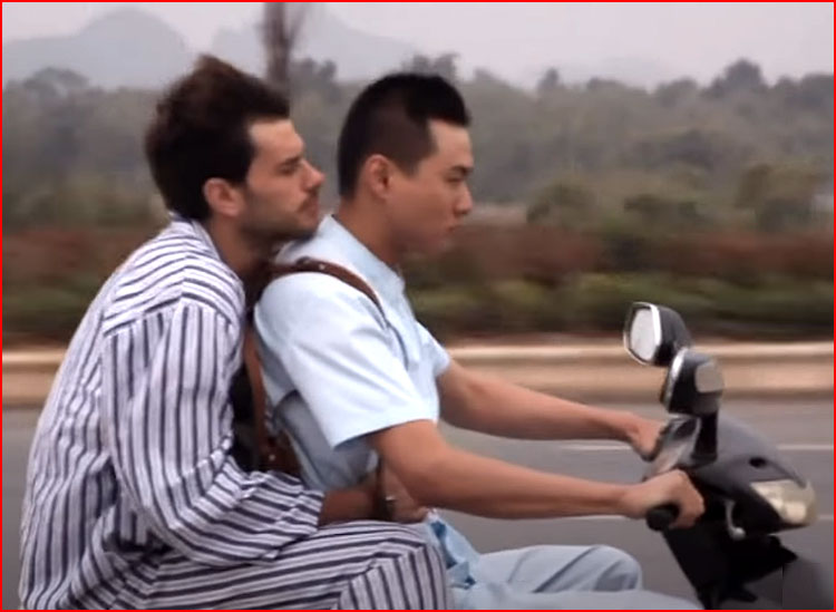 Jiang, Luke & Han (видео)  (гей блюсик 19812)