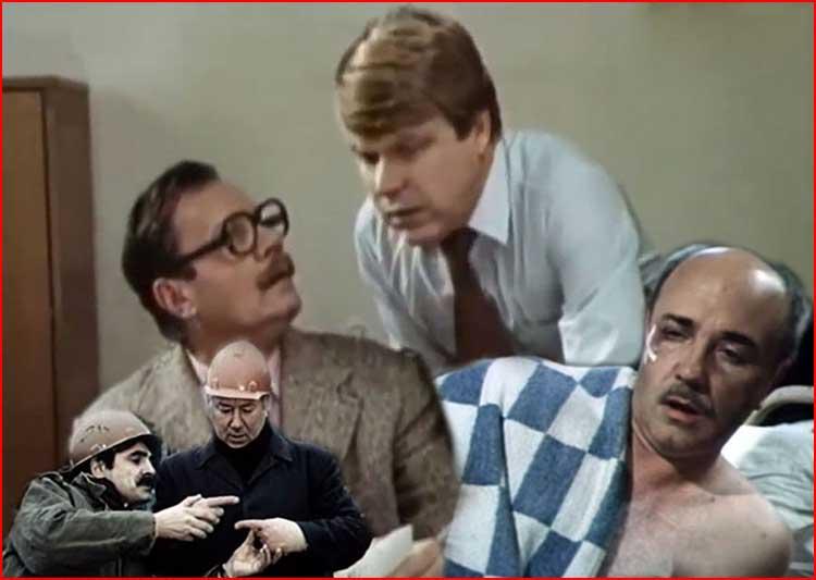 Четырнадцать неизвестных комедий Гайдая (видео)