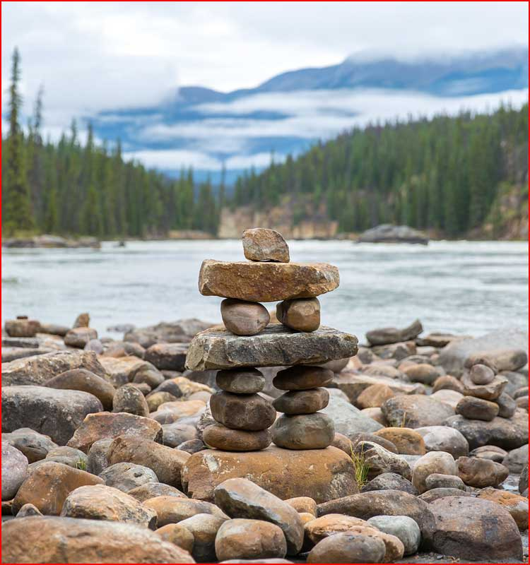 Национальный парк Джаспер в Канаде  (гей блюсик 19851)