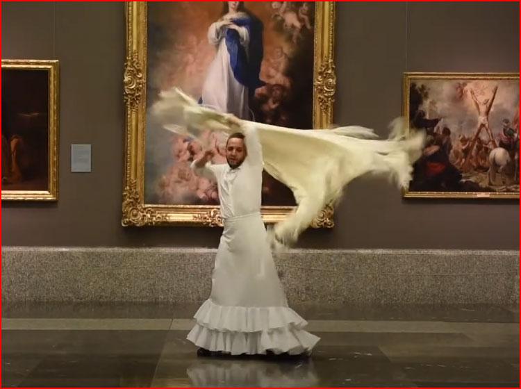 Фламенко в музее Прадо 2020 (видео)