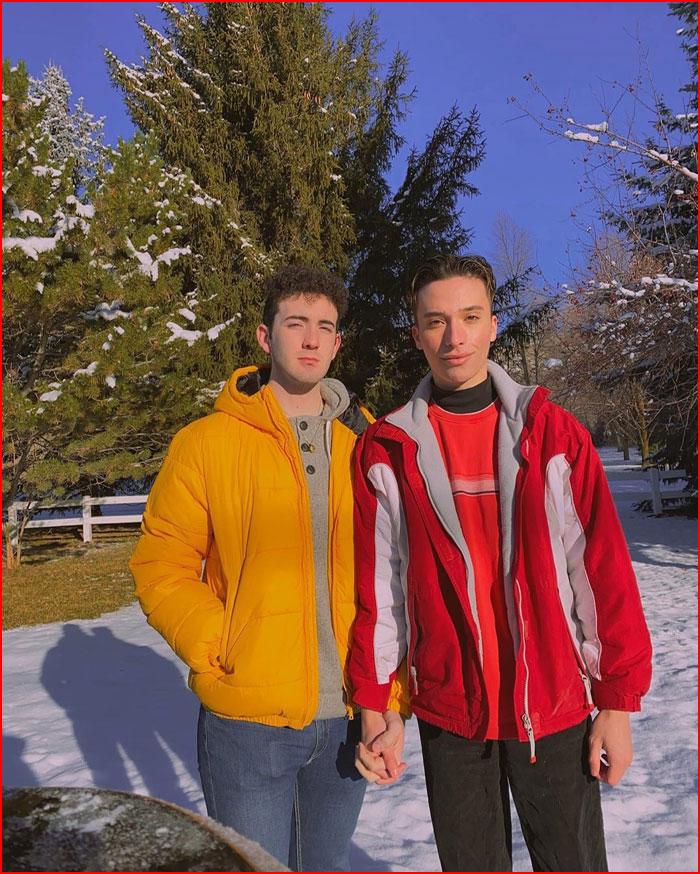 Зимняя прогулка  (гей блюсик 20268)