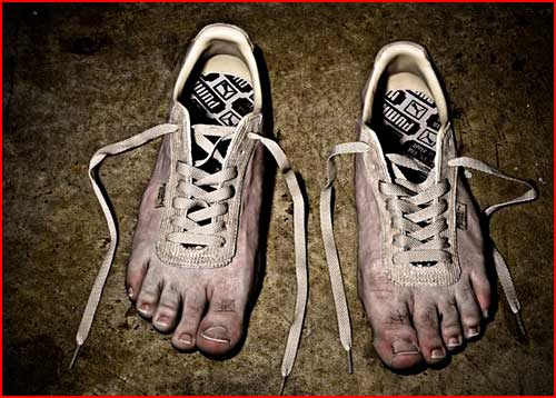 Босая обувь  (гей блюсик 2116)