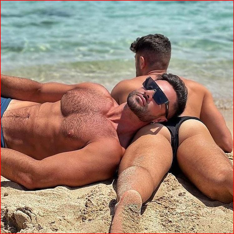 Мы на солнышке лежим  (гей блюсик 21308)