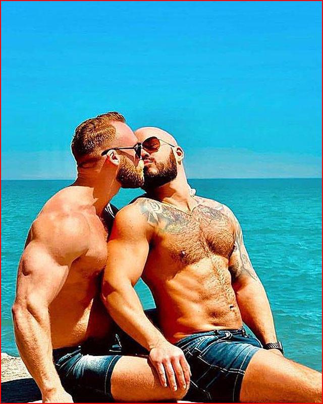 Лето вдвоём  (гей блюсик 21315)