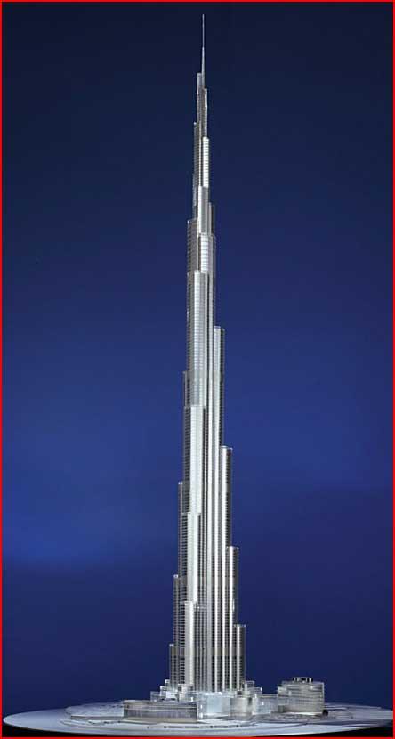 Бурж Дубай - самое высокое здание на планете  (гей блюсик 2459)