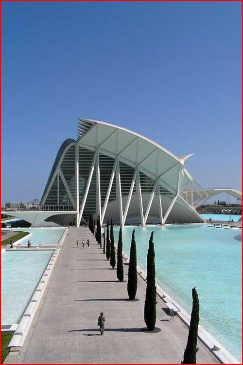 Город искусств и наук в Испании  (гей блюсик 2539)
