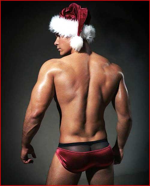 Сексуальный Санта  (гей блюсик 2846)