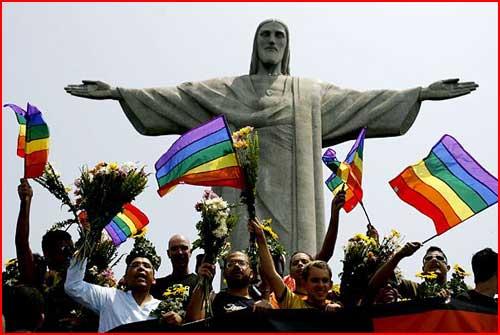 Иисус любит всех  (гей блюсик 3829)