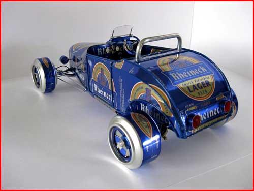 Жестяные автомобили  (гей блюсик 3875)