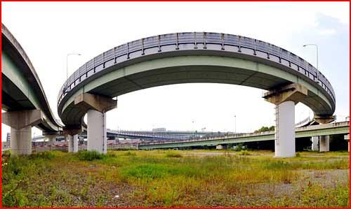 Дорожные развязки в Японии  (гей блюсик 3903)