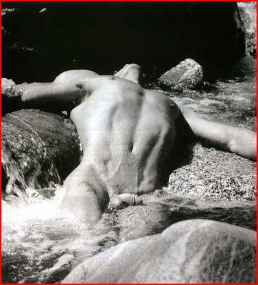 Чёрно-белая эротика  (гей блюсик 4115)