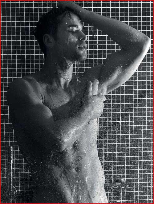 Чёрно-белая эротика  (гей блюсик 4195)