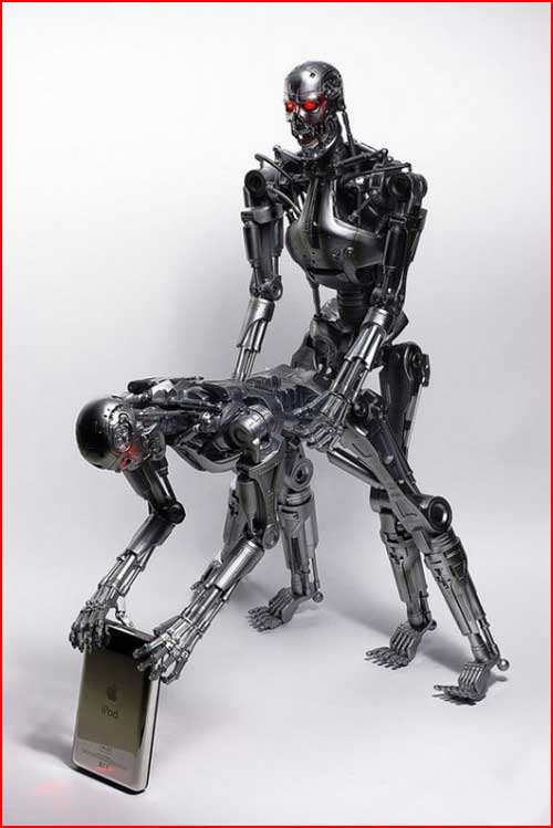 Сексапильные роботы  (гей блюсик 4313)