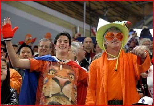 Олимпийские фанаты из  Ванкувера  (гей блюсик 4463)