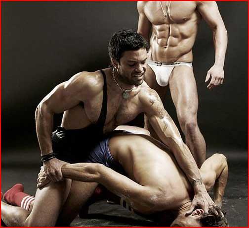 Спортсмены  (гей блюсик 4721)