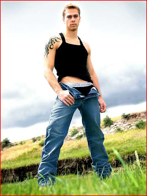 Сексапильный Kris Feragen  (гей блюсик 4926)