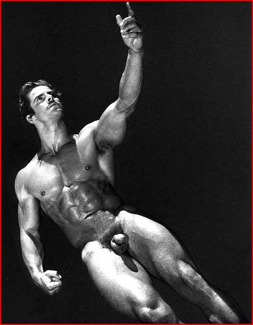 Чёрно-белая эротика  (гей блюсик 4954)