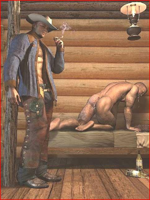 Настоящий ковбой  (гей блюсик 5061)