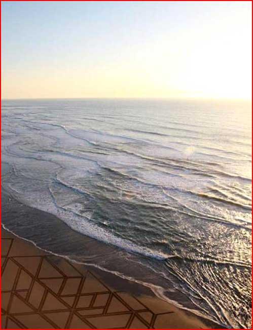 Рисунки на пляжном песке  (гей блюсик 5153)