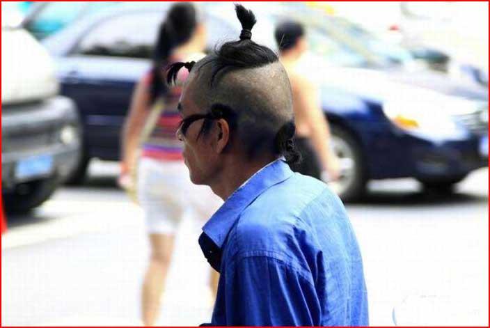 Причёска в жаркое лето  (гей блюсик 5157)
