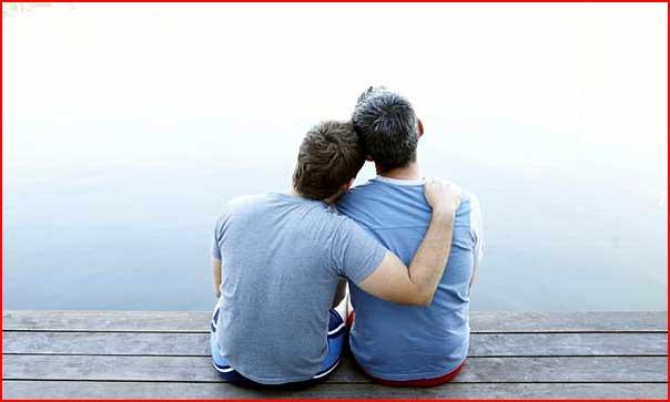 С любимым в обнимку  (гей блюсик 5497)